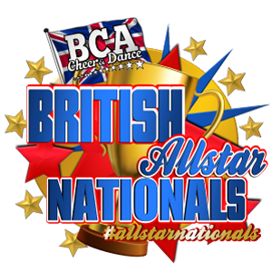 British Cheer leading Logo